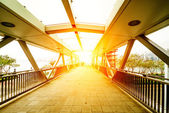 Footbridge — Stockfoto