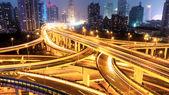 Intercambio de Shangai — Foto de Stock