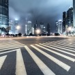 Photo: Light trails on shanghai