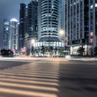 Stock Photo: Light trails on shanghai