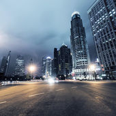 Światło trasy w Szanghaju — Zdjęcie stockowe