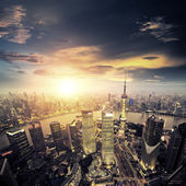 Shanghai lujiazui — Stock Photo
