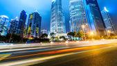 Açık yollar shanghai — Stok fotoğraf
