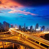 Shanghai interchange — Stock Photo