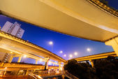 Shanghai interchange — Stockfoto