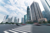 Street and city — Stock Photo