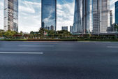 Road in city — Stock Photo
