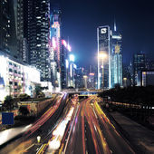 Traffic in Hong Kong — Stock Photo