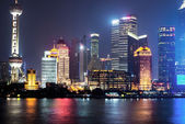 City of shanghai — Stock Photo