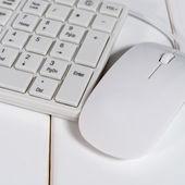 Tastiera e mouse — Foto Stock