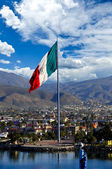 Large Mexican Flag — Stock Photo