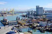 Port of Livorno, Italy — Stockfoto