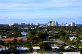 View of Fort Lauderdale From Port Everglades — Stock Photo