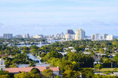 Cityscape Fort Lauderdale, Florida — Stock Photo