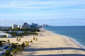 Beach at Fort Lauderdale Florida — Stock Photo