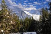 Half Dome in winter — Stock Photo