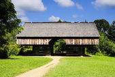 Tipton Barn Great Smoky Mountain National Park — Stock Photo