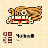 Aztec symbol Malinalli — Stock Vector