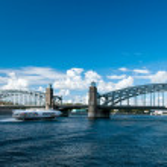 Peter the Great bridge — Stock Photo #2724670
