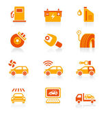 Car service icons - JUICY series — Stock Vector