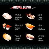 Nigiri sushi IV — Stock Vector