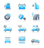 Car service icons - MARINE series — Stock Vector
