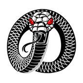 Snake tattoo — Stock Vector