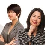 Mixed Race Ethnic Women with Doctors or Nurses — Stock Photo
