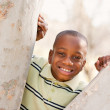 Young African American Boy Playing in the Park - Lizenzfreies Foto