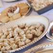 Various Italian Appetizers on Table — Stock Photo #22240549