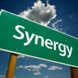 Synergy Road Sign — Stock Photo #2329291