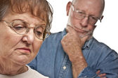 Senior Couple in an Argument — Foto de Stock