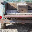 Old Rusty Antique Truck Abstract in a Rustic Outdoor Settin — Stock Photo