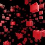Cube network — Stock Photo #3915171