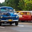 Vintage classic Ford in Havana — Stock Photo #12203671