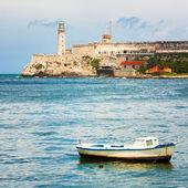 The Castle of El Morro in Havana — Stock Photo