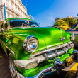 Vintage Chevrolet parked in Old Havana — Stock Photo #12624391