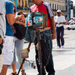 Street photographer in Old Havana — Stock Photo