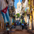 Typical street in Old Havana — Stock Photo #12659667