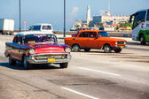Old Chevrolet in Havana — Stock Photo