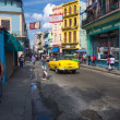 Urban scene in a well known street in Havana — Stock Photo #12822077