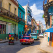 Urban scene in a well known street in Havana — Stock Photo #12905601