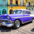 Classic Chevrolet parked in Old Havana — Stock Photo #12905782