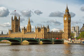The Big Ben, a symbol of London — Stock Photo