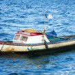 Small fishing boat in Havana — Stock Photo