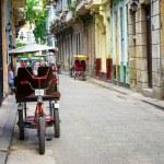 gatubilden i Gamla Havanna — Stockfoto
