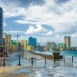 Stock Photo: Hurricane in city of Havana