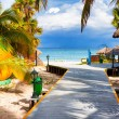 The tropical beach of Varadero in Cuba — Stock Photo #14858191