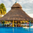 Stock Photo: Outdoors pool at a hotel in Varadero,Cuba