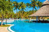 Beautiful outdoors pool at a hotel in Varadero — Stock Photo